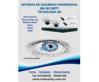 Sistema profesional de videovigilancia para casa u oficina
