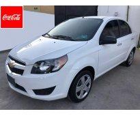 Chevrolet aveo ltz año 2014