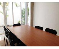 Renta de oficinas ejecutivas amuebladas