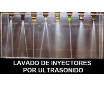 Lavado de inyectores por ultrasonido y servicio