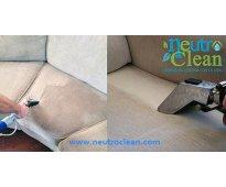 Lavado orgánico de salas, alfombras y tapicería en general.