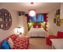 Habitaciones comodas, amuebladas y diseño unico al sur de la ciudad