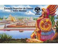 Carrera de danza y artes azteca esdam