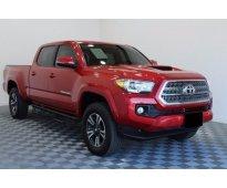 Toyota tacoma trd 2016 rojo