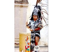 Carrera de danza  artes azteca esdam