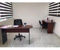 Oficinas físicas/virtuales en renta