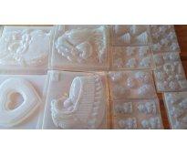 Moldes para gelatina artistica