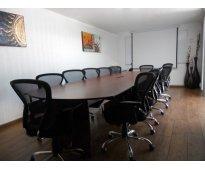Salas ejecutivas en renta