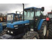 Tractor agrícola new holland 6640