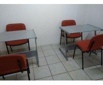 Se renta cómoda oficina amueblada