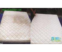 Lavado orgánico de colchones y muebles a domicilio con tratamiento anti ácaros.
