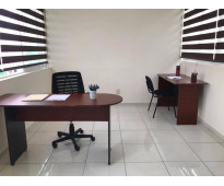 Oficina equipada a precio accesible