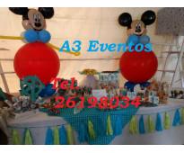 Mesa de dulces ,animacion y decoracion para tu baby shower