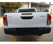 Toyota hilux sr 4x4 doble cabina modelo 2017