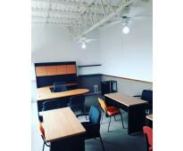 Oficina para 6 personas, excelentes instalaciones y precio
