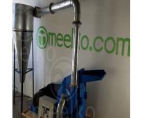 (arroz silvestre)  molino de biomasa a martillo eléctrico hasta 1500 kg hora - m...