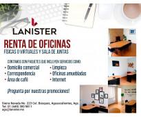 Renta tu oficina virtual !! visitanos!!