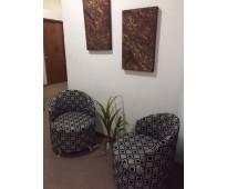 Oficina para 6 personas, excelentes servicios y ubicación