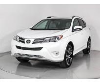Toyota rav4 limited 2015