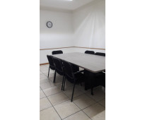 Renta de terraza y sala de juntas desde $100 pesos