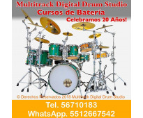 Clases de bateria y audio produccion musical