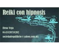 Reiki con hipnosis, sanación por imposición de manos y los recursos del inconsci...