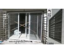 Regio protectores - instal en fracc:puerta de hierro 1373