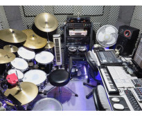 Multitrack digital drum studio / clases de bateria