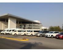 Renta de vans con chofer de 6 a 20 pasajeros en leon, guanajuato y alrededores