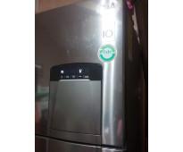Vendo refrigerador lg barato con dispensador para agua y hielos bien cuidadito