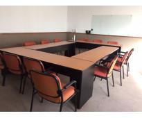 Renta una oficina con servicios incluidos en mva