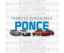 Gestoria vehicular ponce