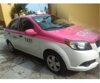 Taxi aveo 2012 venta o cambio auto particular