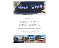 Renta de camionetas para traslados en congresos y convenciones