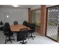 Renta de oficinas con servicios incluidos