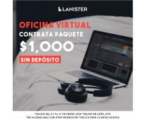 Oficinas virtuales en promoción!!!!!!! enero 2020