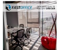 Renta de preciosas oficinas con todos los servicios incluidos, zona andares.