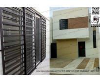 Regio protectores - instal en fracc:samsara residencial 01333