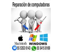 Reparación de computadoras macintosh.