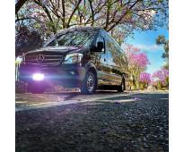 Renta de camionetas para transporte de pasajeros