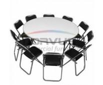 Venta de mesas y sillas banqueteras resistentes