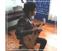 Academia de música arp. clases de guitarra en sábados.