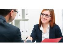 Contrato de secretaria por temporada