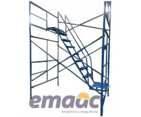 Escalera interna para andamios