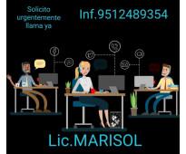 Busco auxiliar administrativo (urge)