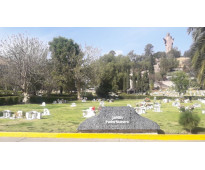 Lote excelente ubicación jardín padre nuestro jardines del recuerdo fosa 4 gavet...