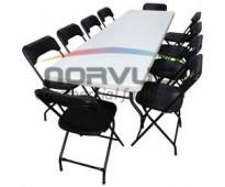 Venta de sillas y mesas para complementar equipo de banquetes