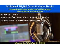 Clases de audioproducción prsencial o en linea
