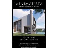 Preventa casa con alberca minimalista tlayacapan morelos