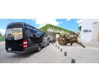 Camionetar de 14 y 20 pasajeros desde león a toda la republica mexicana